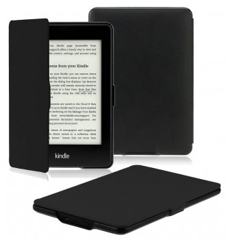 Чехол INATECK COMPACT KINDLE PAPERWHITE COVER MICROFIBRIL PU LEATHER TRAVEL PROTECTIVE CASE COVER Black