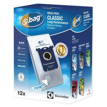 Пылесборник Electrolux E201M S-BAG Classic x 12 Long