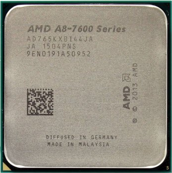 Процессор AMD A8-7650K BOX Black Edition (AD765KX) 3.3 GHz/4core/SVGA RADEON R7/ 4 Mb/95W/ Socket FM2+
