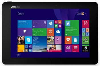 "Ноутбук Asus T100CHI-FG003B Atom Z3775/2Gb/SSD64Gb/Intel HD Graphics/10.1""/Touch/HD (1366x768)/Windows 8.1 32/grey/90NB07H1-M00910"