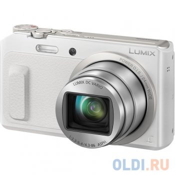 "Фотокамера Panasonic DMC-TZ57EE-W White <16.1Mp, 20x zoom, 3"" LCD, WiFi>"