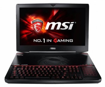 "Ноутбук MSI GT80 2QD(TITAN SLI)-213RU Core i7 4720HQ/16Gb/1Tb/SSD128Gb/Blu-Ray Re/nVidia GeForce GTX 980M 6Gb/18.4""/FHD (1920x1080)/Windows 8.1 Single"