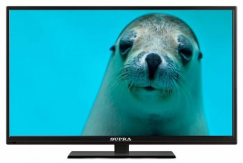 "Телевизор-LCD Supra 50"" S-LC50ST660FL черный/FULL HD/DVB-T2/DVB-C/USB/WiFi/Smart (RUS)"