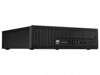 Системный блок HP EliteDesk 800 USDT i5 4590/4Gb/500Gb/DVDRW/Windows 8 Professional 64 dwnW7Pro64/клавиатура/мышь