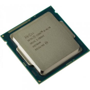 Процессор Intel Core i3-4170 3.7 GHz/2core/SVGA HD Graphics 4400/0.5+3Mb/54W/5 GT/s LGA1150