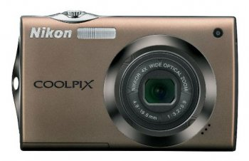 "Nikon CoolPix S4000 бронзовый 12Mp 4x 45Mb/SD/SDHC 3"" LCD (VMA534E1)"