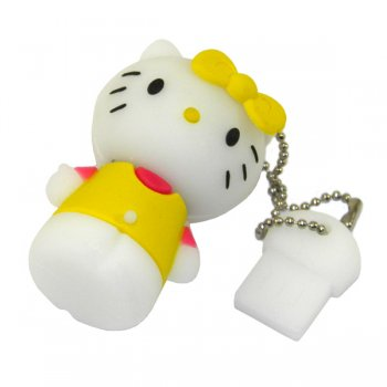 Накопитель USB 8Gb Hello Kitty Yellow