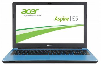 "Ноутбук Acer Aspire E5-511-C5AU Celeron N2840/2Gb/500Gb/15.6""/HD (1366x768)/Windows 8.1 Single Language 64/blue/WiFi/BT/Cam"