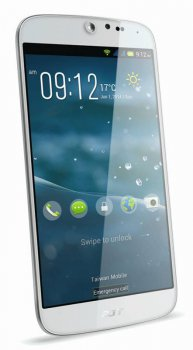 "Смартфон Acer Liquid Jade S55 белый/белый моноблок 3G 2Sim 5"" 720x1280 Android 4.4 13Mpix WiFi BT GPS GSM900/1800 GSM1900 TouchSc MP3 16Gb microSD"