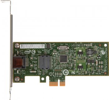 Сетевая карта HP Intel Gigabit CT Desktop NIC (GbE PCIe x1 NIC) (FH969AA)