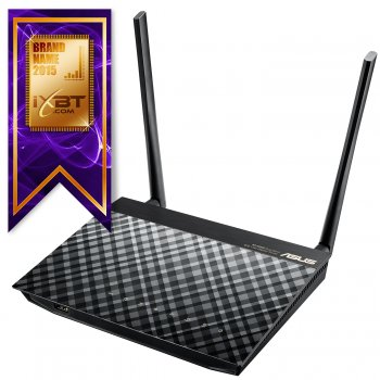 Маршрутизатор ASUS RT-AC55U Dual-Band Wireless-AC1200 Gigabit Router (RTL)