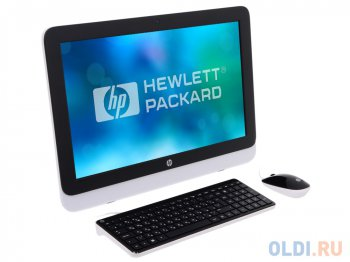 "Моноблок HP Pavilion 222-3003ur AiO <M9L06EA> i3-4170T/4GB/ 1Tb/ DVD-RW/ 21.5"" FHD / WiFi/KB+mouse/Win 8.1"