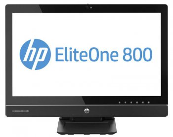 "Моноблок HP EliteOne 800 G1 23"" 1920x1080 Touch i5 4590S (2.9)/4Gb/500Gb 7.2kHDG4600/DVDRW/CR/Windows 8 Professional 64/GbitEth/WiFi/клавиатура/мышь/C"