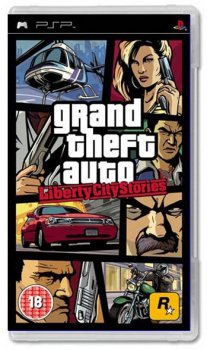 Игра для Sony PlayStation Portable Grand Theft Auto: Liberty City Stories (Platinum) rus (985)