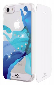 Чехол Hama для Apple iPhone 5/5s Liquids WD голубой (152935)