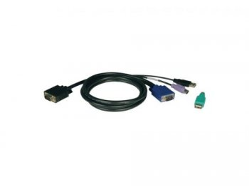 Кабель для KVM Tripplite (P780-006) KVM USB-PS/2 Cable Kit for B040/B042 Series Switches - 6 ft.