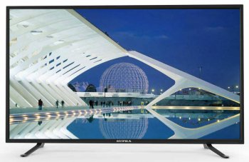 "Телевизор-LCD 32"" Supra S-LC32ST100WL черный/HD READY/50Hz/DVB-T2/DVB-C/USB/WiFi (RUS)"