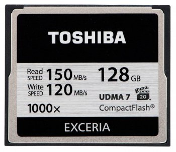 Карта памяти CF 128Gb Toshiba CF-128GTGI(8 w/o adapter