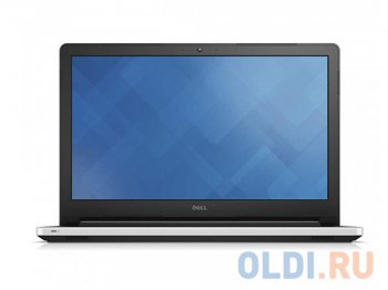 "Ноутбук Dell Inspiron 5558 i5-5200U (2.2)/4Gb/500Gb/15,6""HD/NV GT920M 2G/DVD-SM/BT/Soft touch Palmrest/Win8.1 (5558-7177) (White Glossy)"
