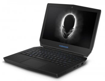 "Ноутбук Dell Alienware 13 Core i7 5500U/8Gb/SSD256Gb/nVidia GeForce 960M 2Gb/13.3""/FWXGA (1366x768)/Windows 8.1/silver/WiFi/BT/Cam"