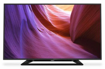 "Телевизор-LCD 32"" Philips 32PHT4100/60 черный/HD READY/100Hz/DVB-T2/USB (RUS)"