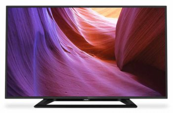 "Телевизор-LCD 40"" Philips 40PFT4100/60 черный/FULL HD/100Hz/DVB-T2/USB (RUS)"