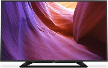 "Телевизор-LCD 32"" Philips 32PFT4100/60 черный/FULL HD/100Hz/DVB-T2/USB (RUS)"