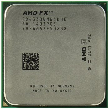 Процессор AMD FX-4330 (FD4330W) 4.0 GHz / 4core / 4+8Mb / 95W / 5200 MHz Socket AM3+