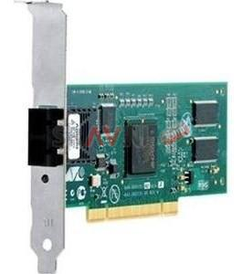 Сетевая карта Net Card Allied Telesis PCI AT-2911SX/LC-001 10/100Mbps Single port Fiber Gigabit NIC for 32-bit PCIe x1 bus, LC, RoHs Version