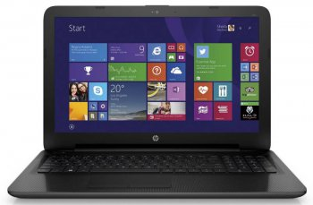 "Ноутбук hp 255 E1 6015/4Gb/500Gb/DVD-RW/Radeon R2 int./15.6""/SVA/HD (1366x768)/Free DOS/black/WiFi/BT/Cam"