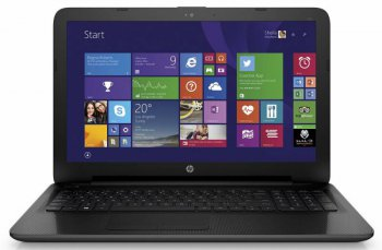 "Ноутбук hp 255 A6 6310/4Gb/500Gb/DVD-RW/Radeon R4 int./15.6""/SVA/HD (1366x768)/Free DOS/black/WiFi/BT/Cam"