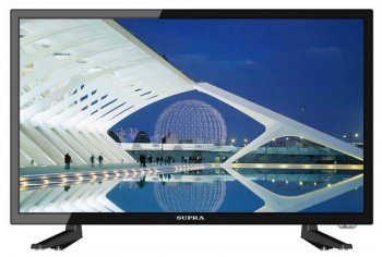"Телевизор-LCD 18.5"" Supra S-LC19ST100WL черный/HD READY/50Hz/DVB-T2/DVB-C/USB (RUS)"