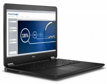 "Ноутбук Dell Latitude E7450 Core i5 5200U/4Gb/500Gb/SSD8Gb/Intel HD Graphics HD 5500/14""/HD (1366x768)/Linux/black/WiFi/BT/Cam"