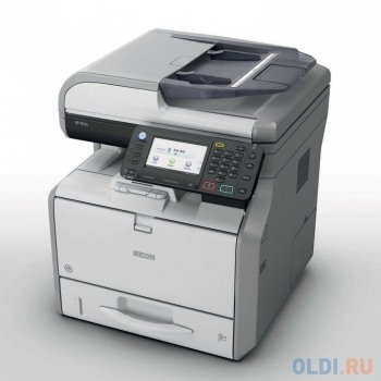 МФУ Ricoh SP 4510SF (копир-принтер-сканер, DADF, 40стр./мин., 1200x1200dpi, 512Mb, A4, LAN, USB)