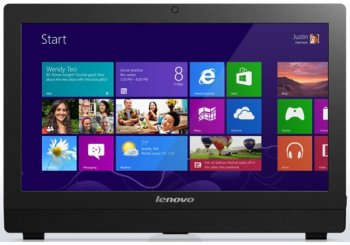"Моноблок Lenovo S50 30 23"" Full HD i3 4005u/4Gb/1Tb 7.2k/SSHD8Gb/DVDRW/Windows 8.1 64/WiFi/Cam/черный 1920x1080"