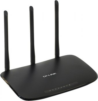 Маршрутизатор TP-LINK < TL-WR940N > Wireless N Router (4UTP 10 / 100Mbps, 1WAN, 802.11b / g / n, 450Mbps, 3x5dBi)