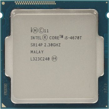 Процессор Intel Core i5-4670T 2.3 GHz/4core/SVGA HD Graphics 4600/1+6Mb/45W/5 GT/s LGA1150