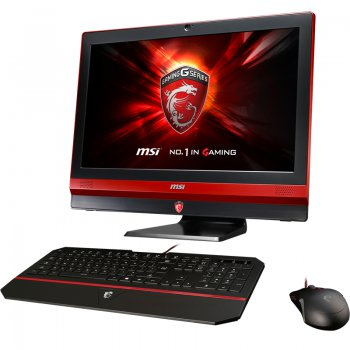 Моноблок MSI Gaming 24GE 2QE-027RU i7 4720HQ (2.4)/8Gb/1Tb/SSD256Gb/GTX960M 2Gb/DVDRW/CR/Windows 8.1/GbitEth/WiFi/BT/TV/клавиатура/мышь/Cam/черный/кра