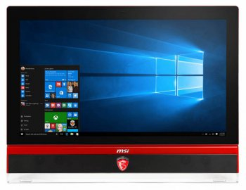 "Моноблок MSI AG270 2QC 3K-013RU i7 4720HQ (2.4)/8Gb/1Tb/SSD256Gb/GTX970M 3Gb/DVDRW/CR/Windows 8.1/GbitEth/WiFi/BT/TV/клавиатура/мышь/Cam/черный 27"" 25"
