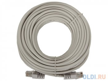 Кабель UTP Cable Patch Cord UTP CAT5e 15m, grey