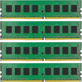 Оперативная память DDR4 4x8Gb 2133MHz Kingston (KVR21R15S4K4/32) ECC RTL CL15 SR x4 w/TS 1.2V Reg DIMM