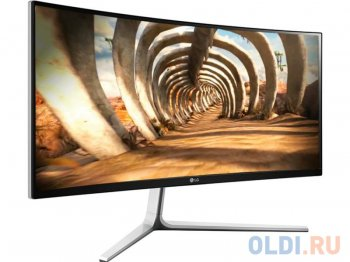 "Монитор 29"" LG Flatron 29UC97C-S Silver CURVED, IPS, 2560x1080, 5ms, 300 cd/m2, 1000:1 (Mega DCR), HDMI*2, DP, USBhub, 1Wx2, Headph.Out, vesa"