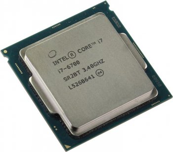 Процессор Intel Core i7-6700 3.4 GHz/4core/SVGA HD Graphics 530/1+8Mb/65W/8 GT/s LGA1151