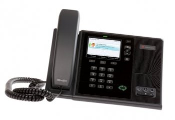 Телефон IP Polycom CX600 IP Phone for Microsoft Lync. Ships with Lync 2010 Phone Edition and requires Lync Server 2010. POE only. Includes stand/suppo