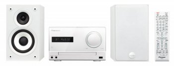 Микросистема Pioneer X-CM32BT-W белый 30Вт/CD/CDRW/FM/USB/BT