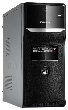 *Корпус CROWN CMC-157 black/gray ATX 400W (б/у)