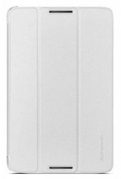 Чехол Lenovo A8-50 Folio Case and Film (White-WW) белый (888016507)