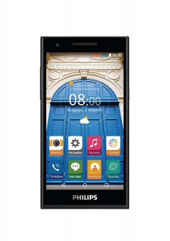 "Смартфон Philips S396 Black 2Sim/ 5""IPS,1280x720/MT6735P, 1000 МГц/8Гб/8Мп/8Мп /Android 5.1/GPS/A-GPS/WiFi/2300мАч"