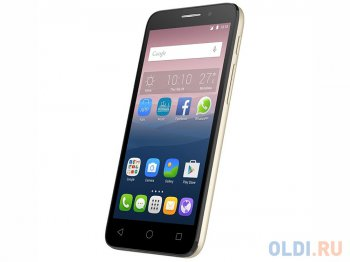 "Смартфон Alcatel OT5015X POP 3 (Soft gold) 2SIM/5"" 854x480/5Mpx/4Gb/GPS/WiFi/Android 5.0"