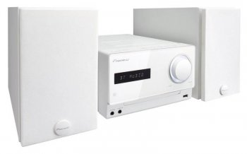 Микросистема Hi-Fi Pioneer X-CM42BT-W белый 30Вт/CD/CDRW/FM/USB/BT